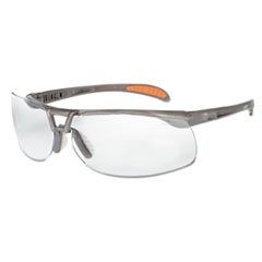 Honeywell Uvex™ Protege Safety Glasses, Ultra-dura Anti-Scratch, Sandstone Frame, Clear Lens