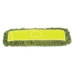 "Boardwalk® Echo Dustmop, Synthetic/Cotton, 36"" x 5"", Green, 12/Carton"