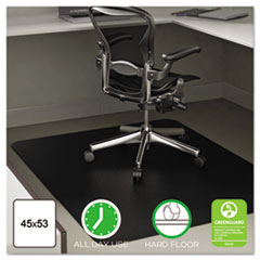 deflecto® EconoMat® Non-Studded All Day Use Chair Mat for Hard Floors Thumbnail