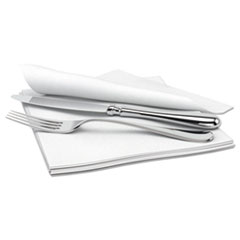 Cascades PRO Signature Airlaid Dinner Napkins/Guest Hand Towels, 1-Ply, 15x16.5, 1000/Carton