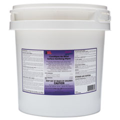 2XL CareWipes Surface Sanitizing Wipes, 10 x 10, 500/Bucket, 2 Buckets/Carton