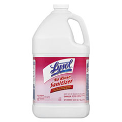 Professional LYSOL® Brand No Rinse Sanitizer Concentrate, 1 gal Bottle, 4/Carton