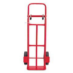 Safco® Two-Way Convertible Hand Truck, 500-600 lb Capacity, 18w x 51h, Red