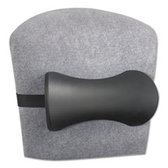 Safco® Lumbar Support Memory Foam Backrest, 14-1/2w x 3-3/4d x 6-3/4h, Black