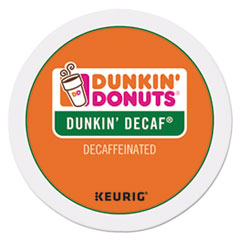 Dunkin Donuts® K-Cup Pods, Decaf, 24/Box