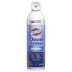 Clorox® Commercial Solutions Odor Defense, Clean Air,14oz Aerosol,12/Carton