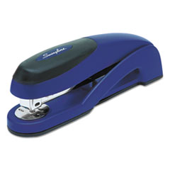 SWI87802 - Optima Full Strip Desk Stapler, 25-Sheet Capacity, Metallic Blue