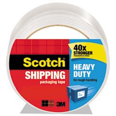"""Scotch® 3850 Heavy-Duty Packaging Tape, 1.88"""" x 54.6yds, 3"""" Core, Clear"""
