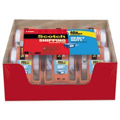 "Scotch® 3850 Heavy-Duty Packaging Tape in Sure Start Disp., 1.88"" x 800"", Clear, 6/Pack"