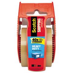"""Scotch® 3850 Heavy-Duty Packaging Tape in Sure Start Disp., 1.88"""" x 800"""", Tan"""