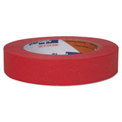 """Duck® Color Masking Tape, .94"""" x 60 yds, Red"""