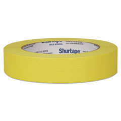 """Duck® Color Masking Tape, .94"""" x 60 yds, Yellow"""