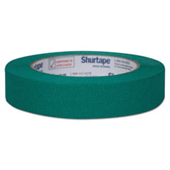 """Duck® Color Masking Tape, .94"""" x 60 yds, Green"""