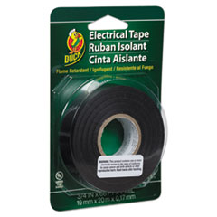 """Duck® Pro Electrical Tape, 3/4"""" x 66 ft, 1"""" Core, Black"""