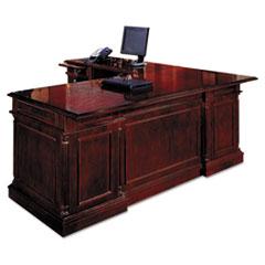 "Keswick Collection Right Pedestal Desk, 72"" x 36"" x 30"", Cherry"