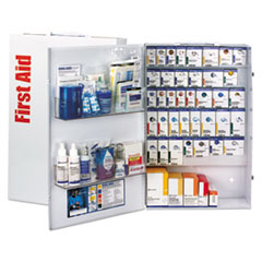 First Aid Only™ ANSI SmartComp Foodservice First Aid Station w/Meds, 200 People, 1687 Pieces