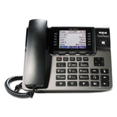 RCA® Unison 1–4 Line Corded/Cordless System, Cordless Desk Phone