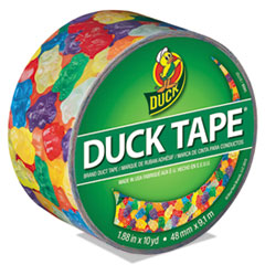 """Duck® Colored Duct Tape, 9 mil, 1.88"""" x 10 yds, 3"""" Core, Gummy Bears"""