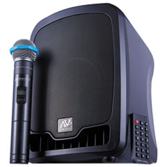 Bluetooth Wireless Portable Media Player PA System, 36W, Black
