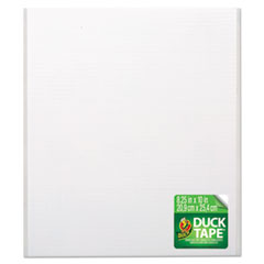 Duck® Tape Sheets, White, 6/Pack