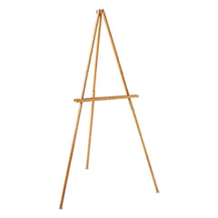 Quartet® Tripod Wood Floor Easel Thumbnail