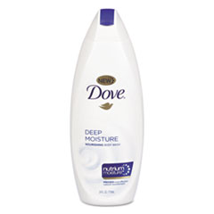 Diversey™ Dove Body Wash Deep Moisture, 12 oz Bottle, 6/Carton