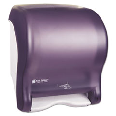 San Jamar® Smart Essence Electronic Roll Towel Dispenser, 11.88 x 9.1 x 14.4, Black