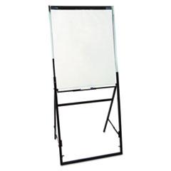 Quartet® Futura Dry Erase Presentation Easel, Melamine, 26 x 35, White, Black Frame