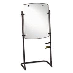 Quartet® Total Erase Presentation Dry Erase Easel, 31 x 41, White, Black Steel Frame