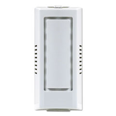 "Fresh Products Gel Air Freshener Dispenser Cabinet, 4"" x 3.5"" x 8.75"", White"