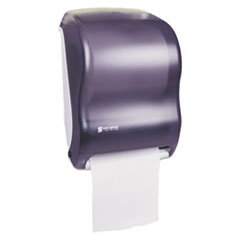 San Jamar® Tear-N-Dry Touchless Roll Towel Dispenser, 11.75 x 9 x 15.5, Black Pearl