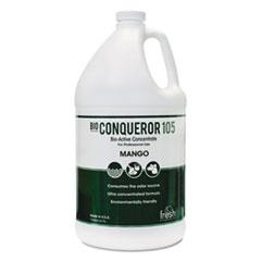 Fresh Products Bio Conqueror 105 Enzymatic Odor Counteractant Concentrate, Mango, 1 gal Bottle, 4/Carton