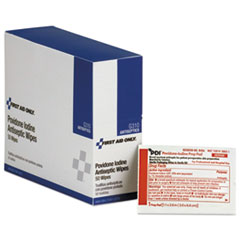 First Aid Only™ Refill for SmartCompliance General Business Cabinet, PVP Iodine, 50/BX