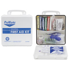 HOSPECO® ProWorks First Aid Kit, 50 Person, 290 Pieces, 9 3/4 in x 14 in x 2 3/4 in