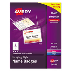 Avery® Hanging-Style Name Badges and Holders Thumbnail
