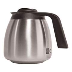 BUNN® 1.9 Liter Thermal Carafe, Stainless Steel/Black