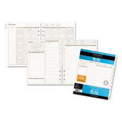 AT-A-GLANCE® Day Runner® Two-Pages-Per-Day Planning Pages Refill Thumbnail