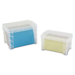 Advantus Super Stacker® Card File Box