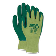 MCR™ Safety Memphis Glove Green Bamboo Coated Gloves Thumbnail