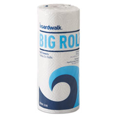 "Boardwalk® Kitchen Roll Towel Office Pack, 2-Ply, White, 5.5""x11"",140/Roll,12/Ct"