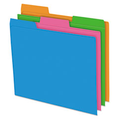 Pendaflex® Glow Poly File Folders Thumbnail