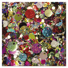 Creativity Street® Sequins and Spangles, Assorted Metallic Colors, 4 oz/Pack