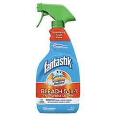 Fantastik® Scrubbing Bubbles Bleach 5-in-1 Cleaner, Fresh Clean, 32oz Trigger Bottle, 8/Ct