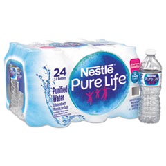 Nestlé® Pure Life Purified Water, 16.9 oz Bottle, 24/Carton