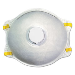 Boardwalk® N95 Disposable Respirator With Valve, 12/Carton