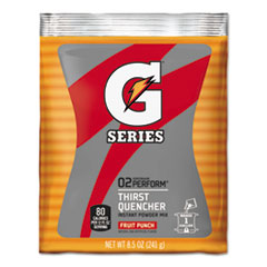 Gatorade® Original Powdered Drink Mix, Fruit Punch, 8.5oz Packets, 40/Carton