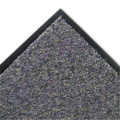 Crown Classic Berber Wiper Mat, Nylon/Olefin, 36 x 60, Gray