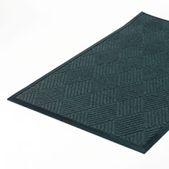 Crown Super-Soaker Diamond Mat, Polypropylene, 36 x 60, Slate