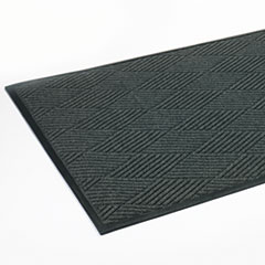 Crown Super-Soaker Diamond Mat, Polypropylene, 46 x 72, Slate