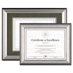 DAX® Charcoal/Nickel-Tone Document Frame